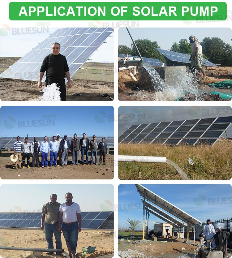 solar powered water pump system for irrigation pdf