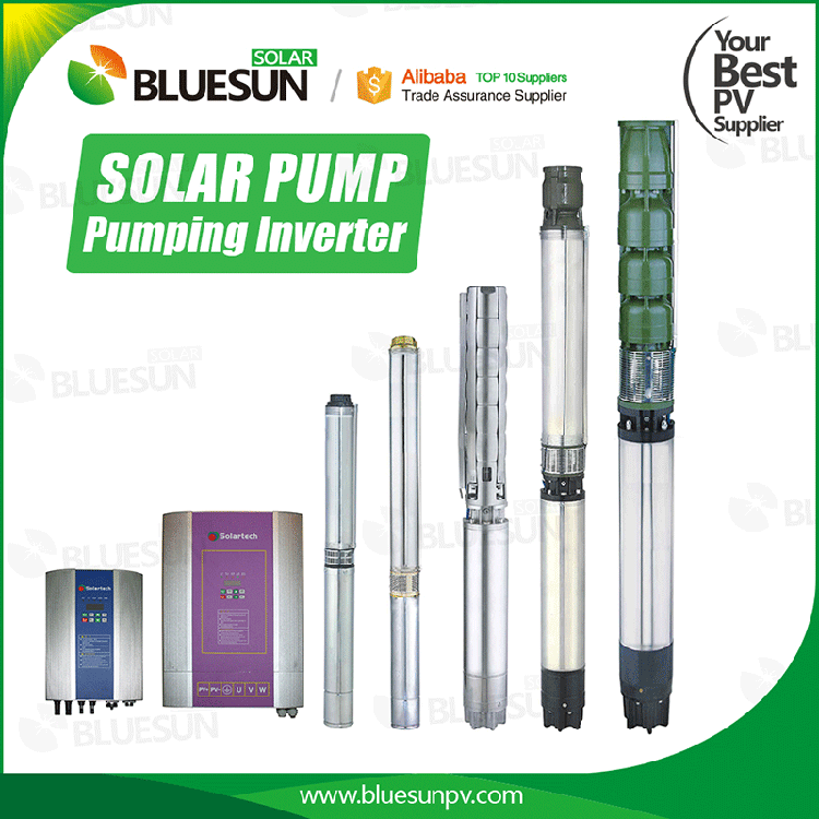 solar submersible pump for irrigation