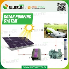 solar agricultural water pumping system