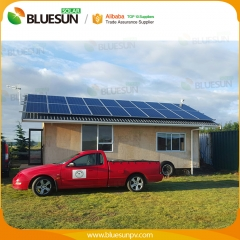 Long life easy maintenance solar power system home 7KW grid tied used for house