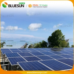 60KW grid tied solar power system 42 kva power plant house factory commercial use