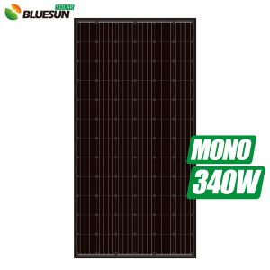 black backsheet and black frames monocrystalline 330w 335watt 340wp 345w solar panel 330 w 335w solar module