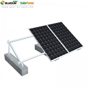 Ballasted Ground Solar Panel Mounting Systems