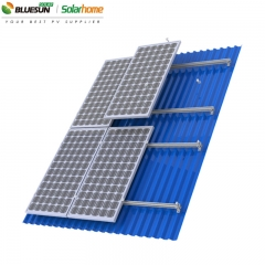 Aluminium Alloy Pitched Roof Solar Panel Mounting Structure Systems