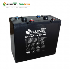 2V 1500ah AGM best rechargeable battery type