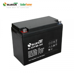 12V 50ah Lead Acid top rated rechargeable batteries