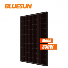 High efficiency 4BB Black 320w 330w 320watt 330watt solar mono panel for solar system