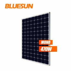 Bluesun 2018 New Design High Efficiency 5BB 470watt 500 watt Solar Panel Mono 470w 500w