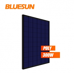 all black poly 270w 280watt 290wp 295w 300w solar panel PV module