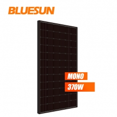 bluesun full black monocrystalline 370w 370watt solar panel