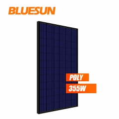polycrystalline black frame 355watt 355w solar panel