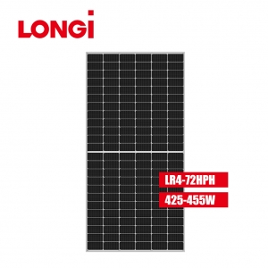 LR4-72HPH 166mm Half Cell 455W 455 Wp Mono Solar Panel